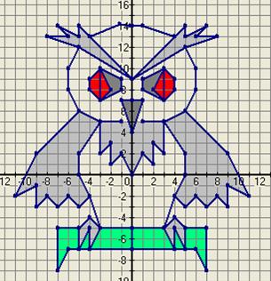 Рисуем по координатам 6 класс с координатами картинки 12