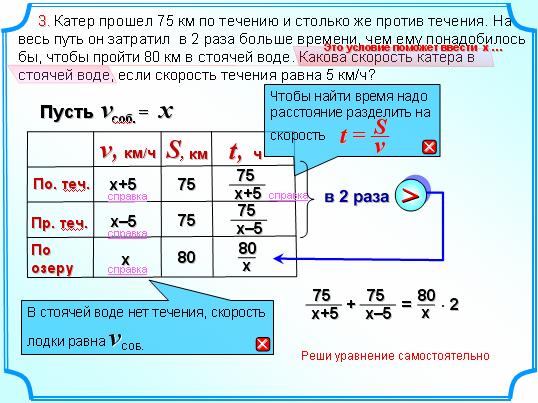 Решение задач по течению против течения задачи по программированию с решениями на языке с