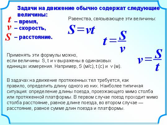 Правило решений задач на скорость задачи на ускорение с решением 10 класс